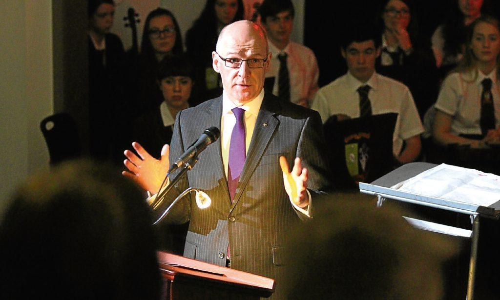Education Secretary John Swinney