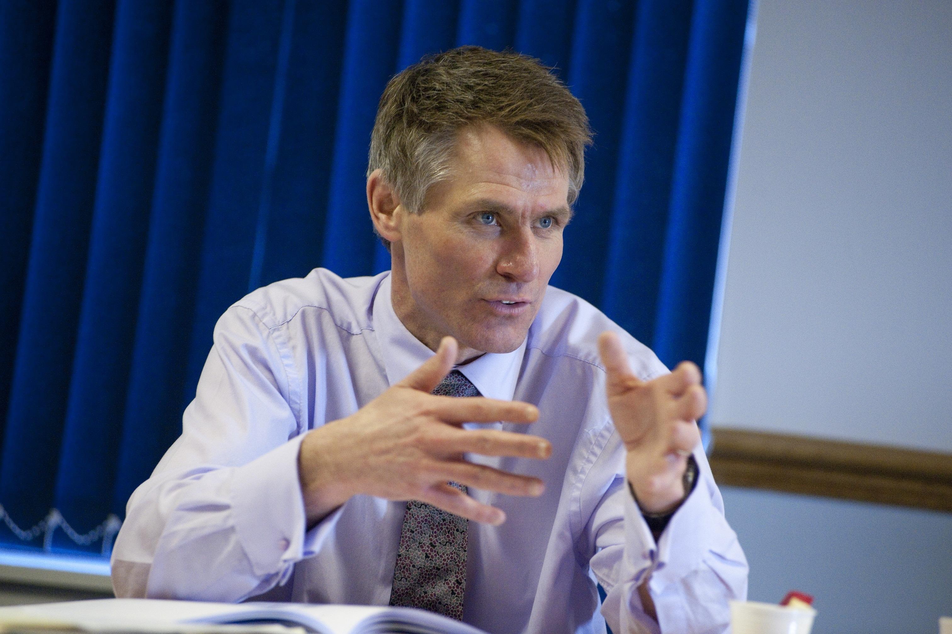 Mr Hall will spend two days a week working alongside civil servants