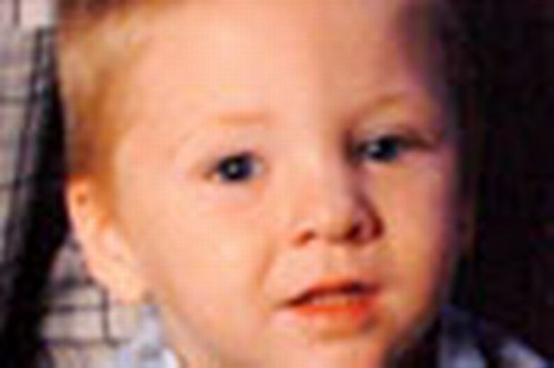 Two-year-old Andrew Morton died after being struck in the head by an airgun pellet