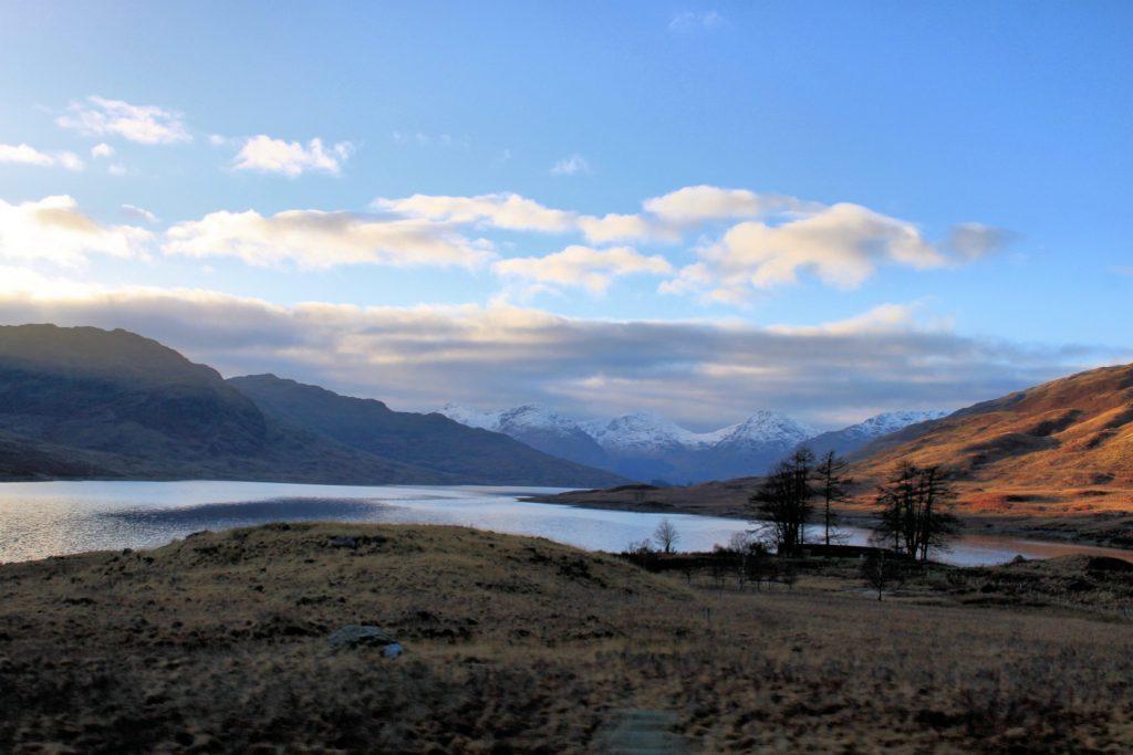 A view of Ben Vorlich and Loch Arklet.