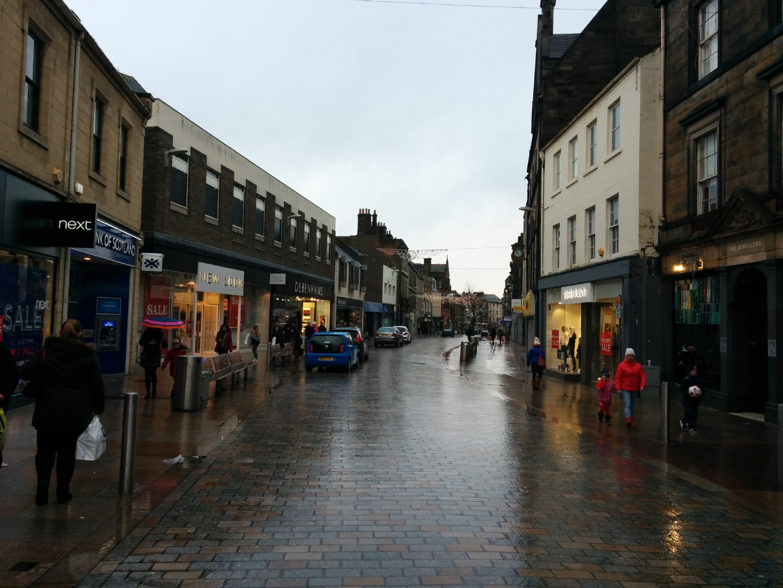 Kirkcaldy High Street.