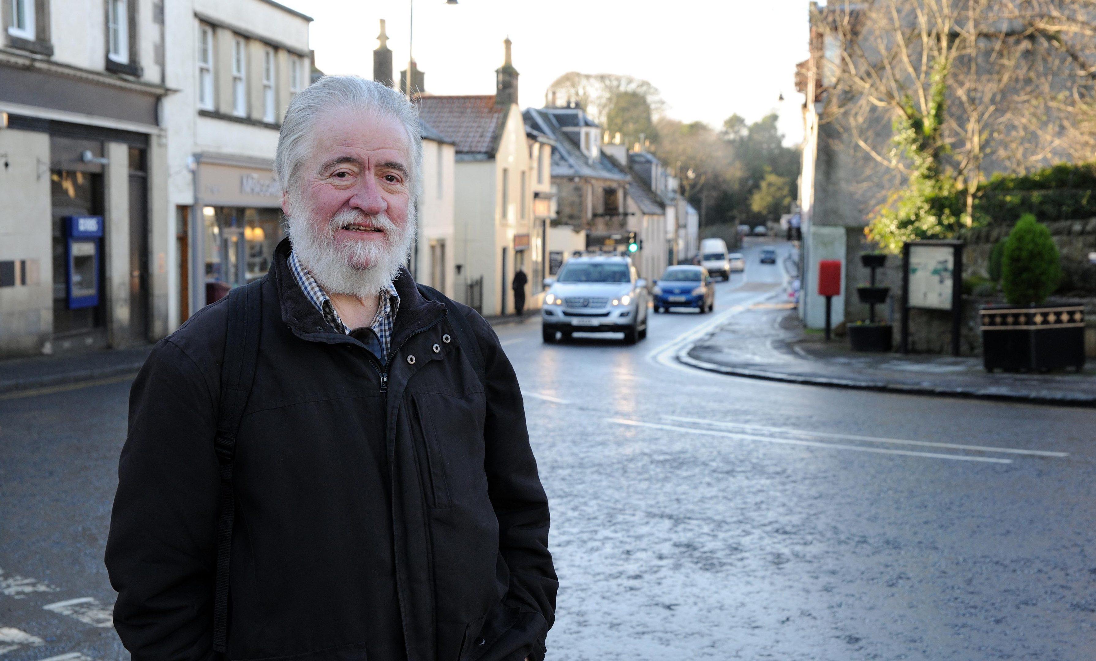 Arthur Lloyd in Aberdour.
