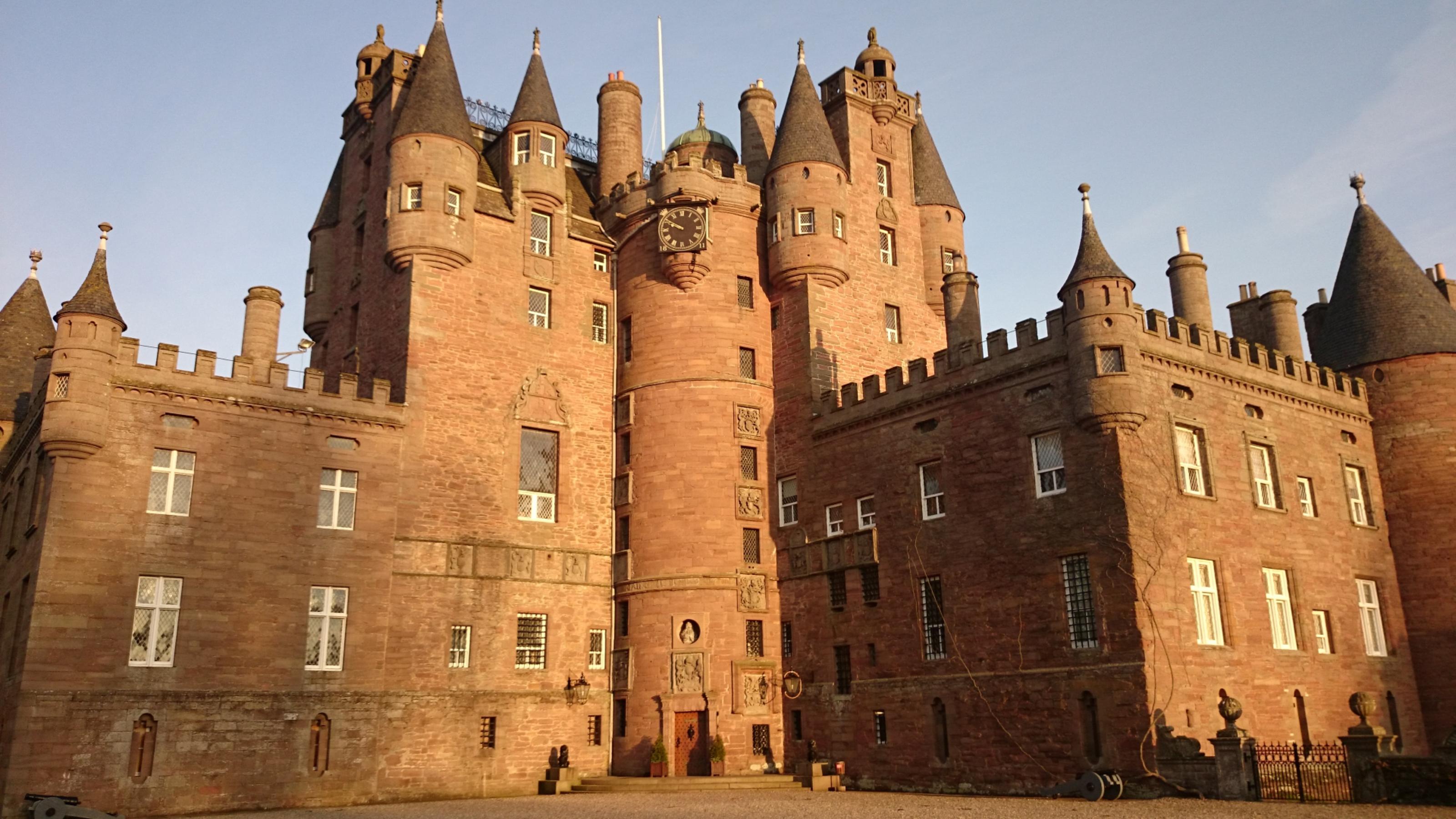Glamis Castle.