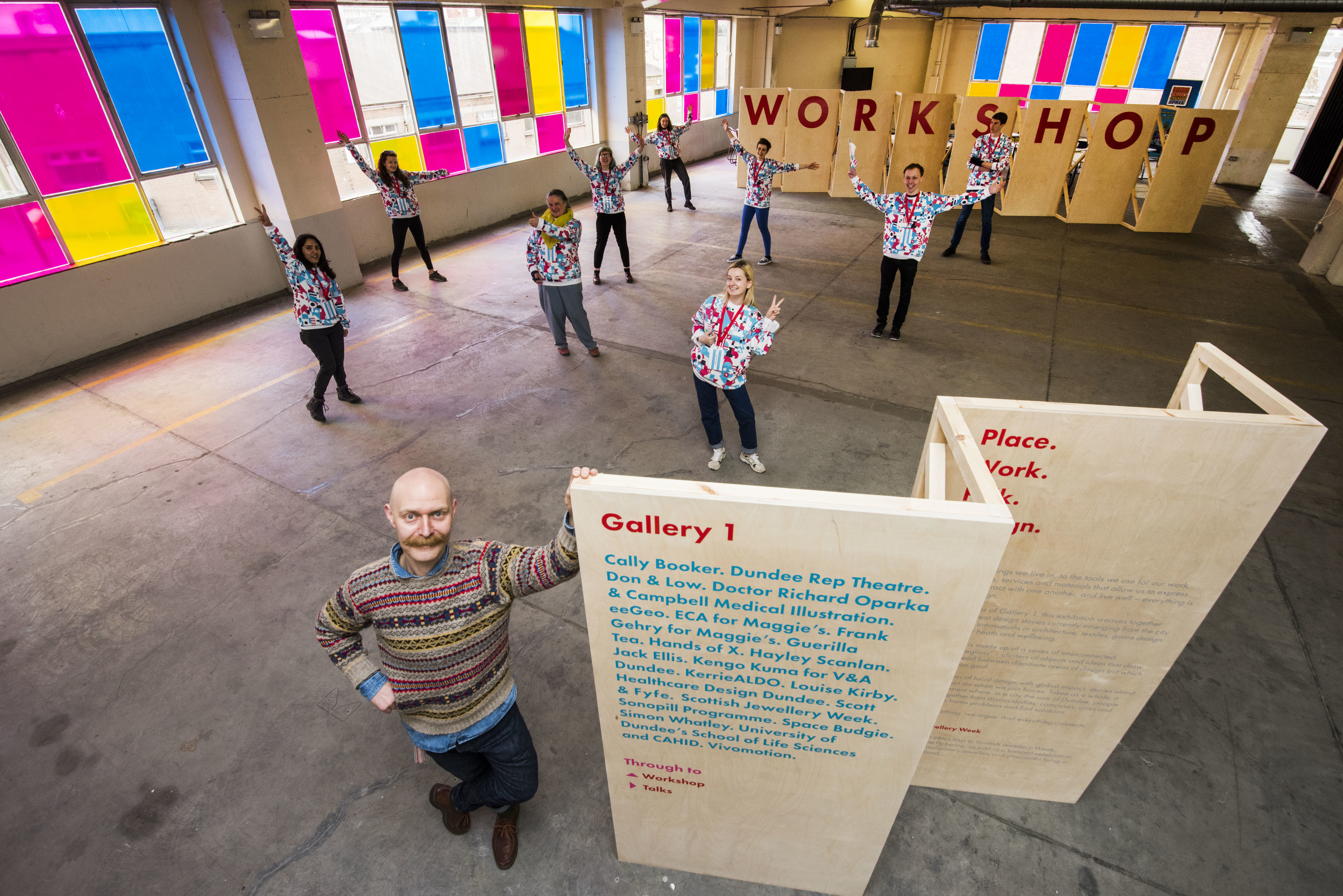 Dundee's status as a UNESCO City of Design could help land it the title of European Capital of Culture 2023.