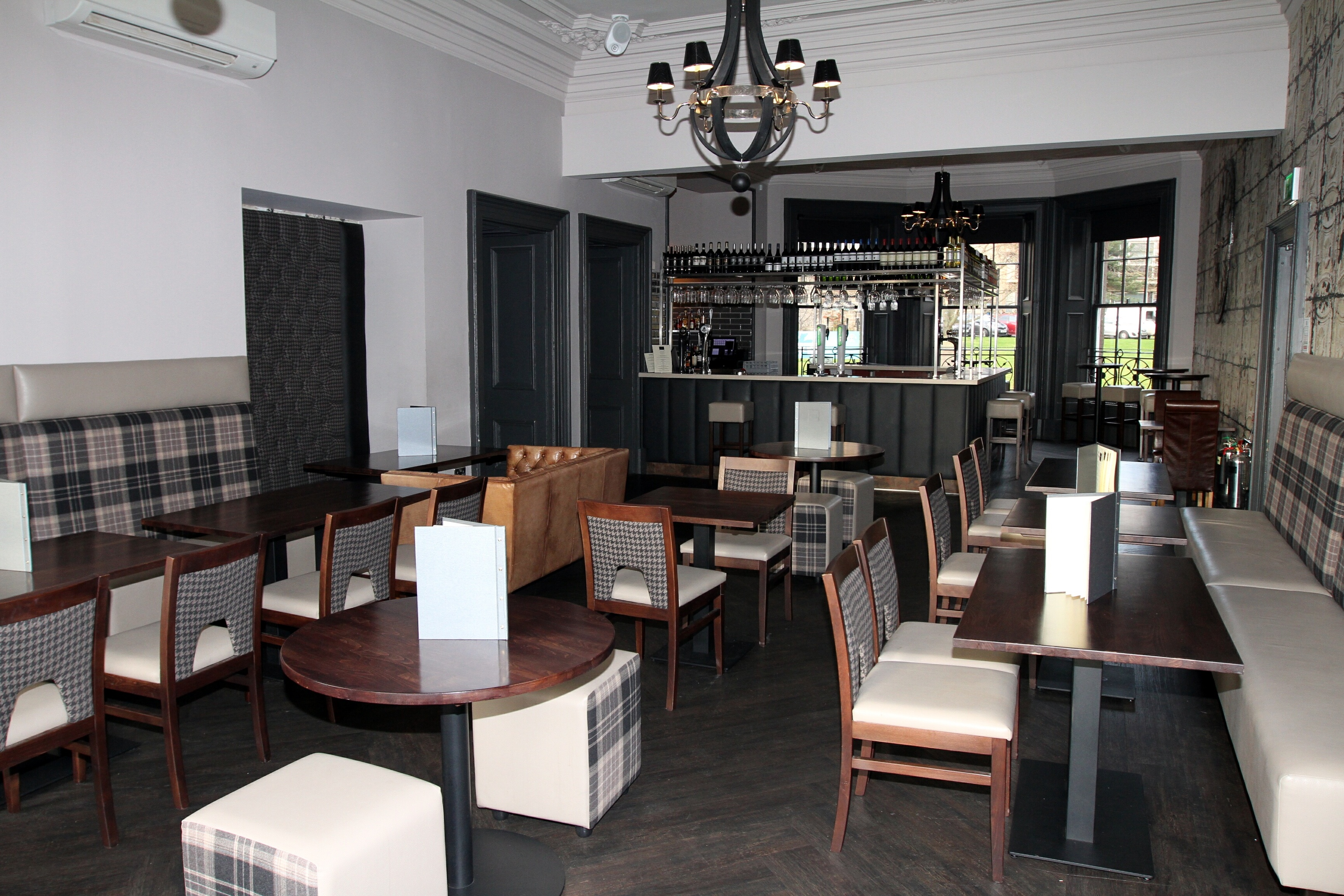 The interior of 172 At The Caird.
