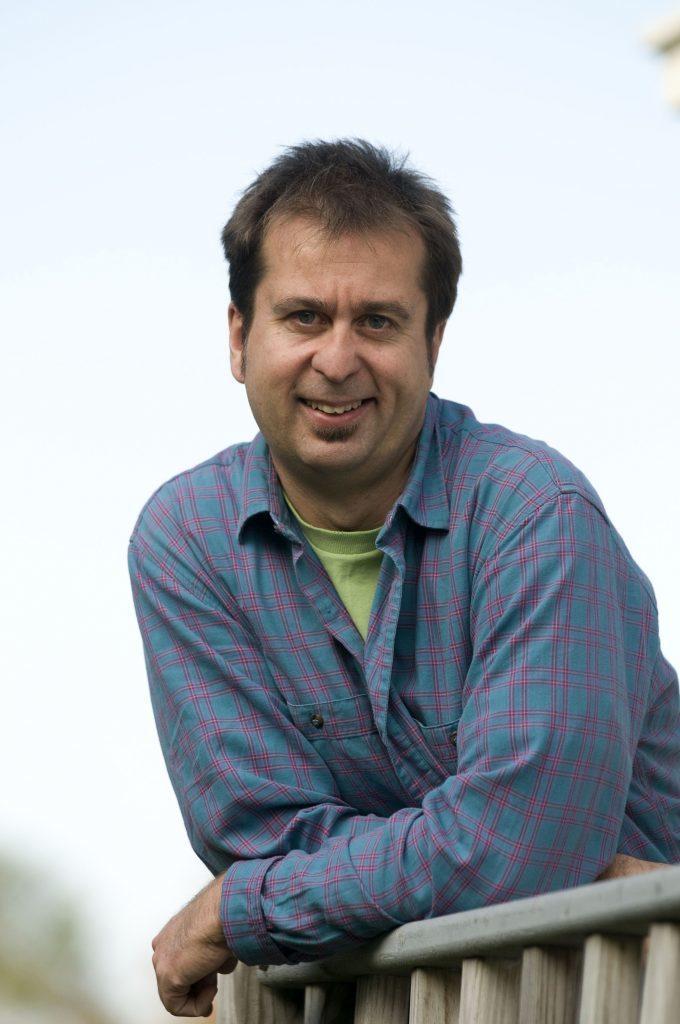Gordon Hamilton, 50, climate scientist.