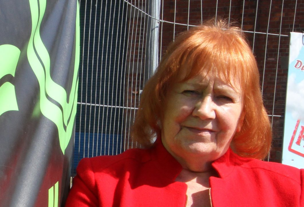 Councillor Helen Wright was under fire over her comments.