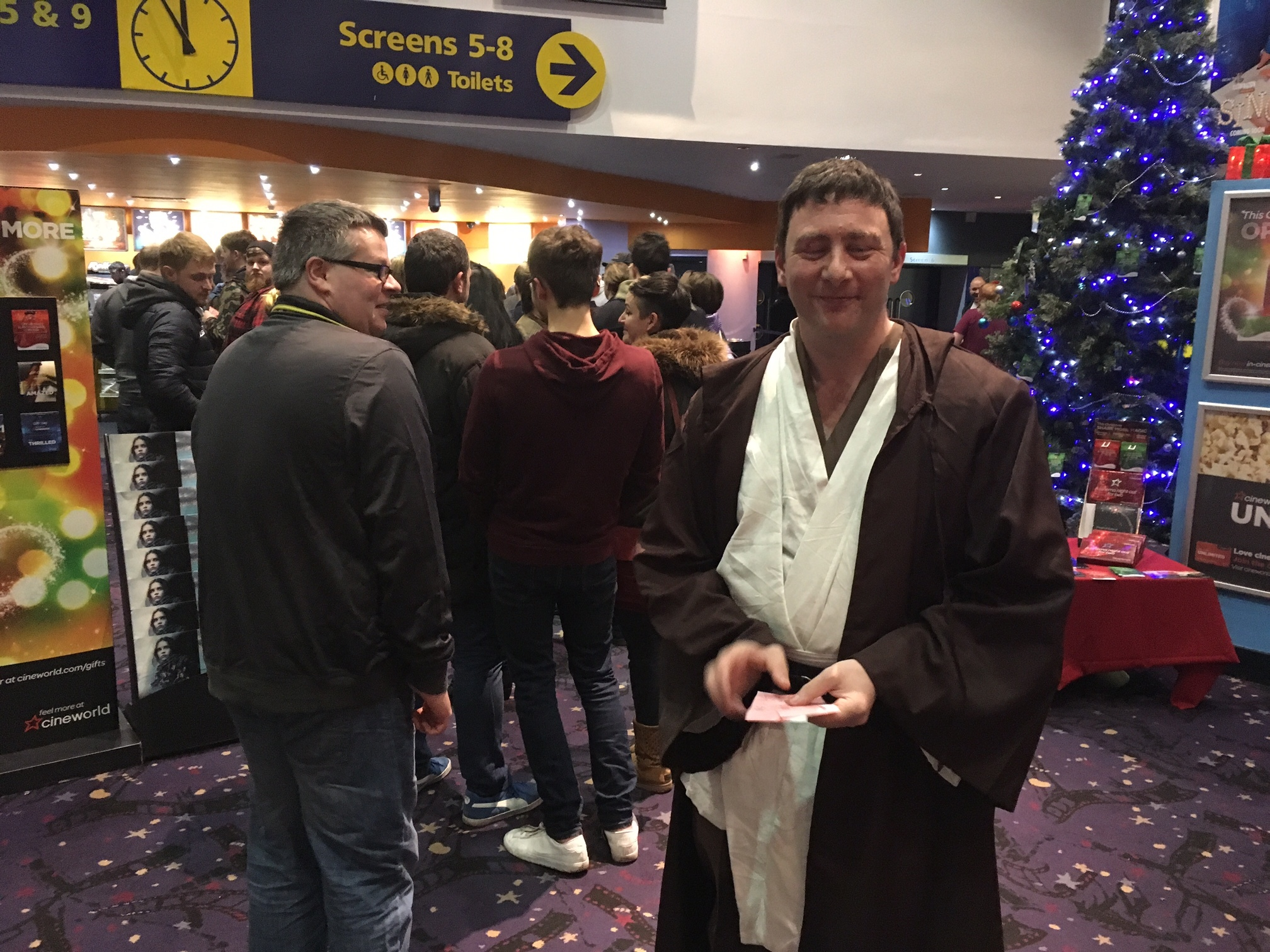 Star Wars premiere screenings in Dundee are a serious business
