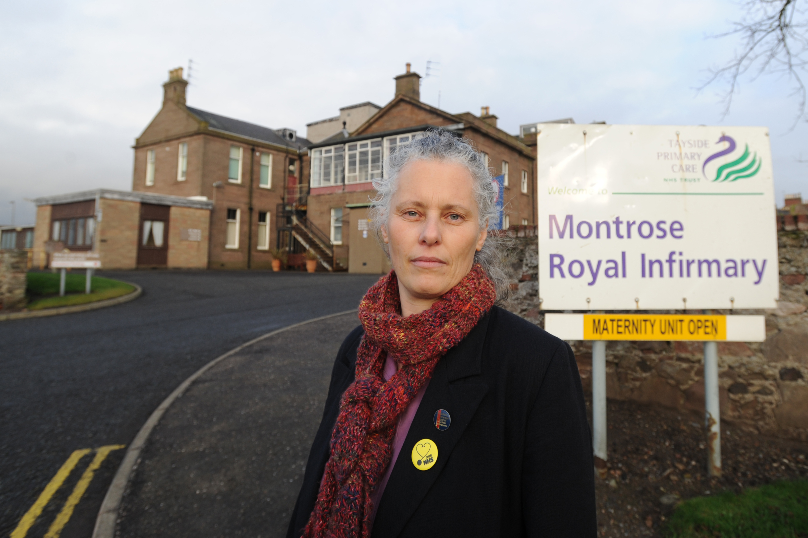 Dr Kristien Hintjens at Montrose Royal Infirmary.