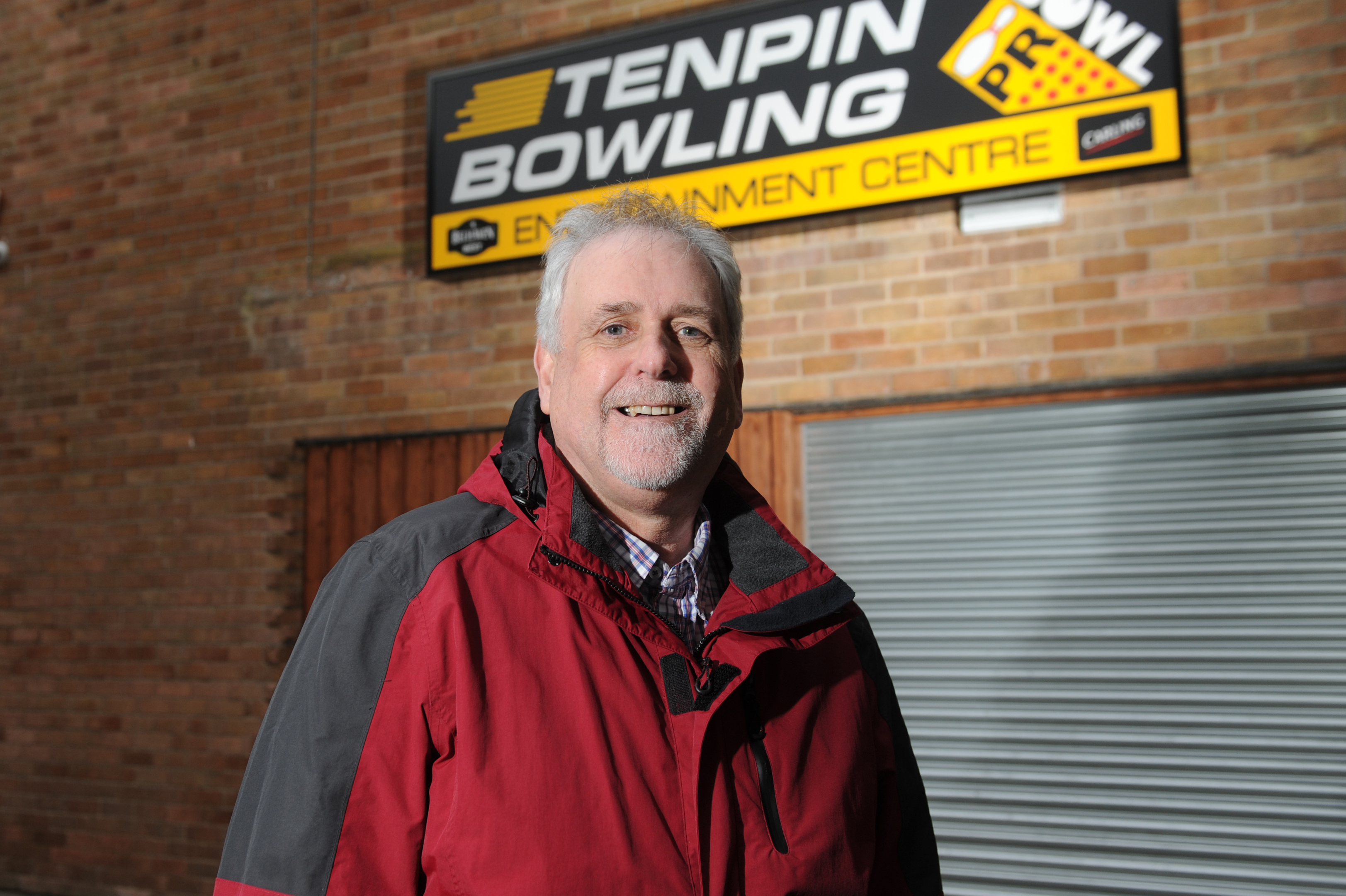 Councillor Bill Brown is pleased to see the return of bowling in Glenrothes