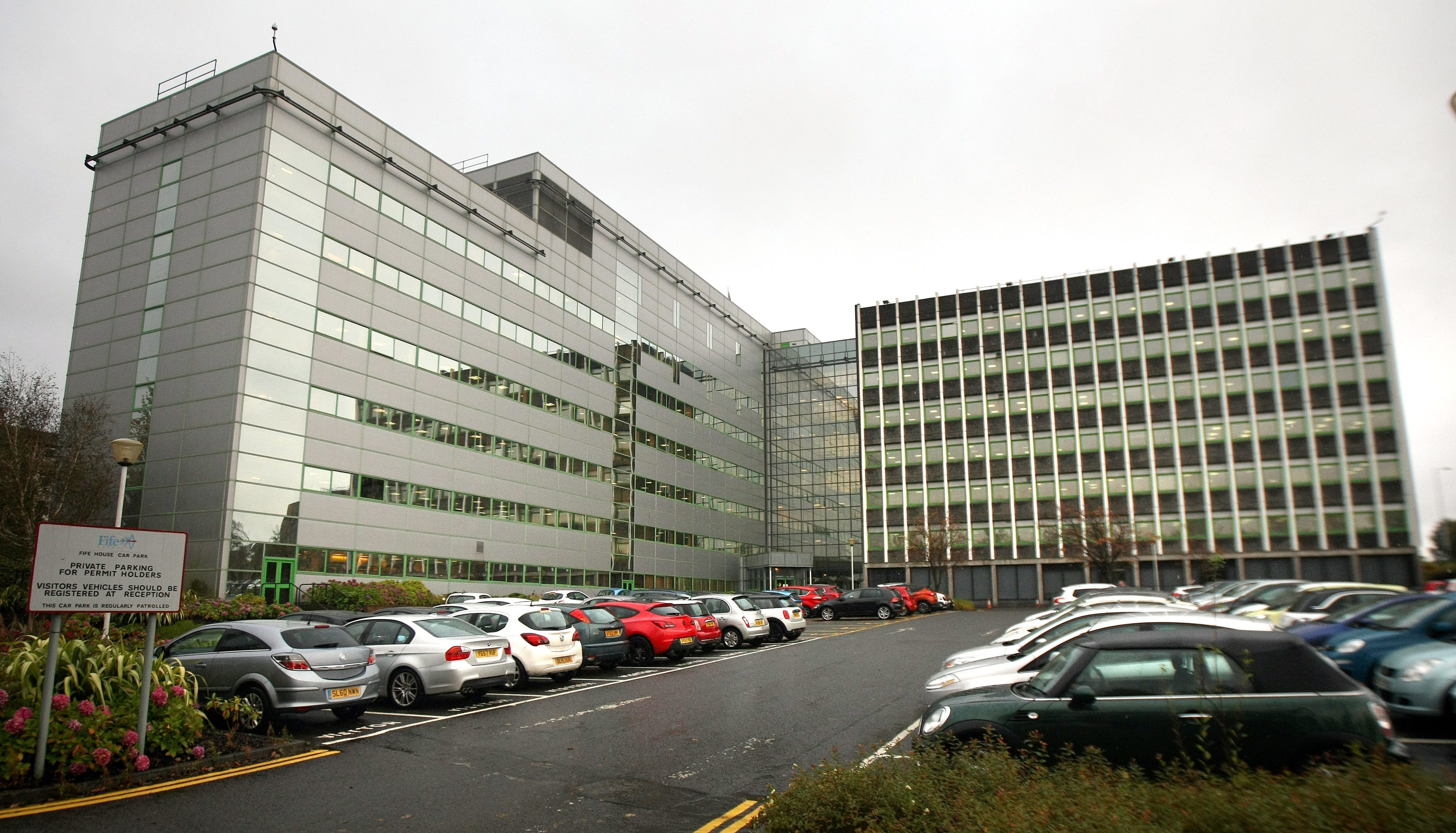 Fife Council headquarters in Glenrothes.