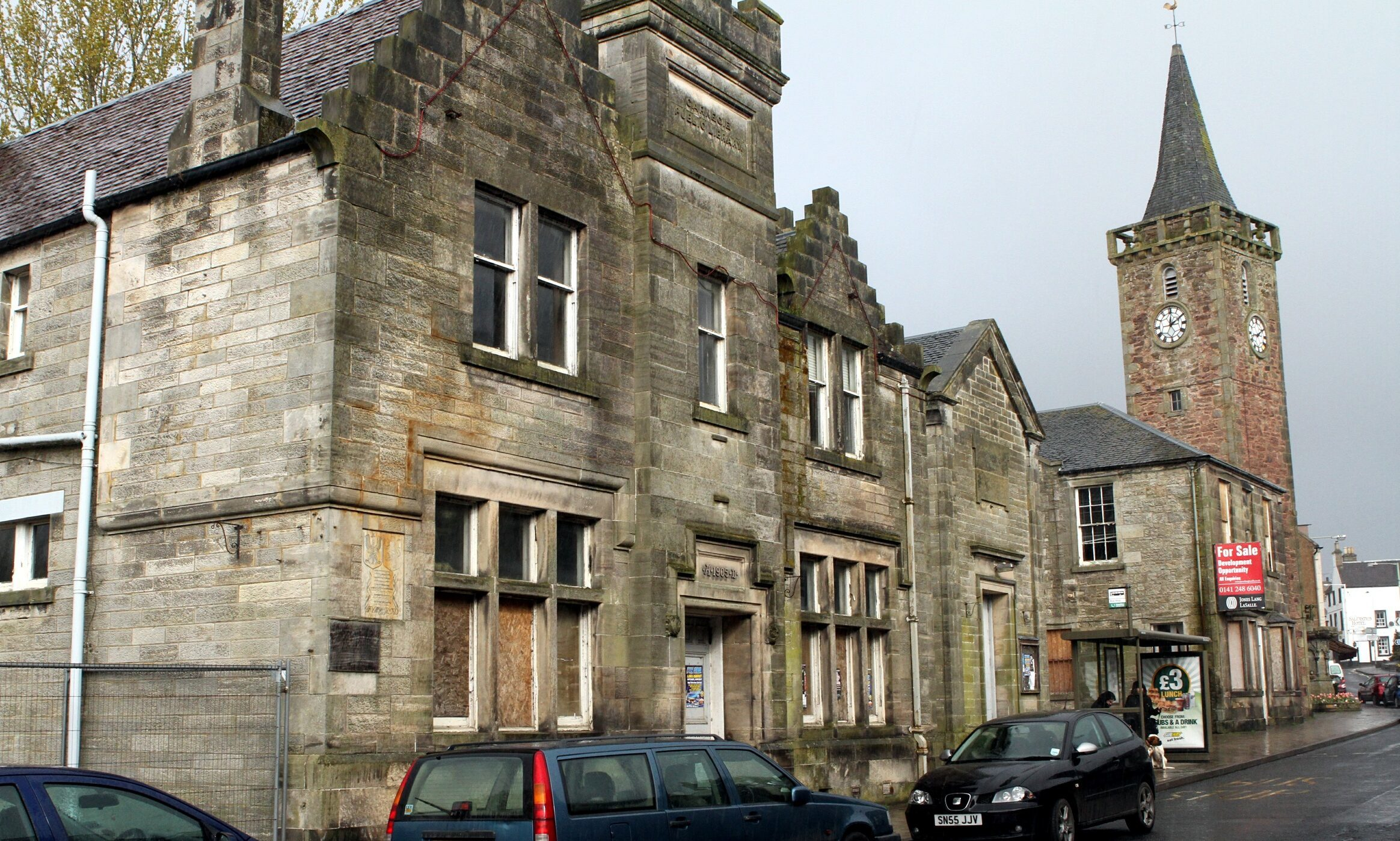 Kinross town hall which could be turned into flats.