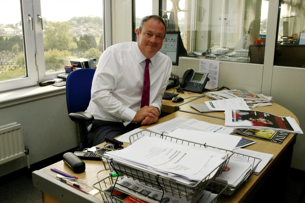 Courier editor Richard Neville