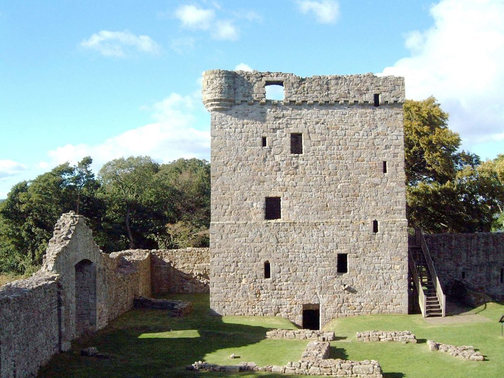Lochleven Castle became Mary Queen of Scots prison for almost 12 months.
