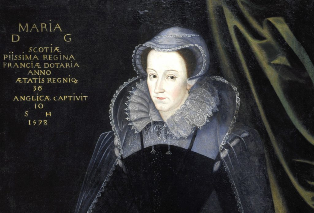 Mary Queen of Scots as pictured in The National Galleries of Scotland.