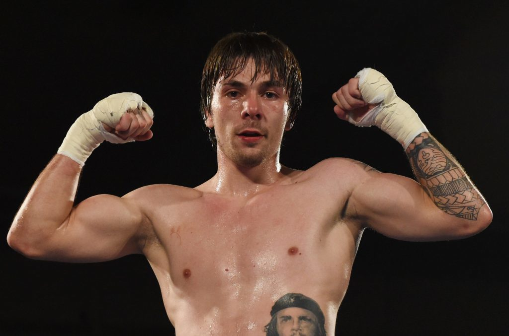 Dundee boxer Mike Towell.
