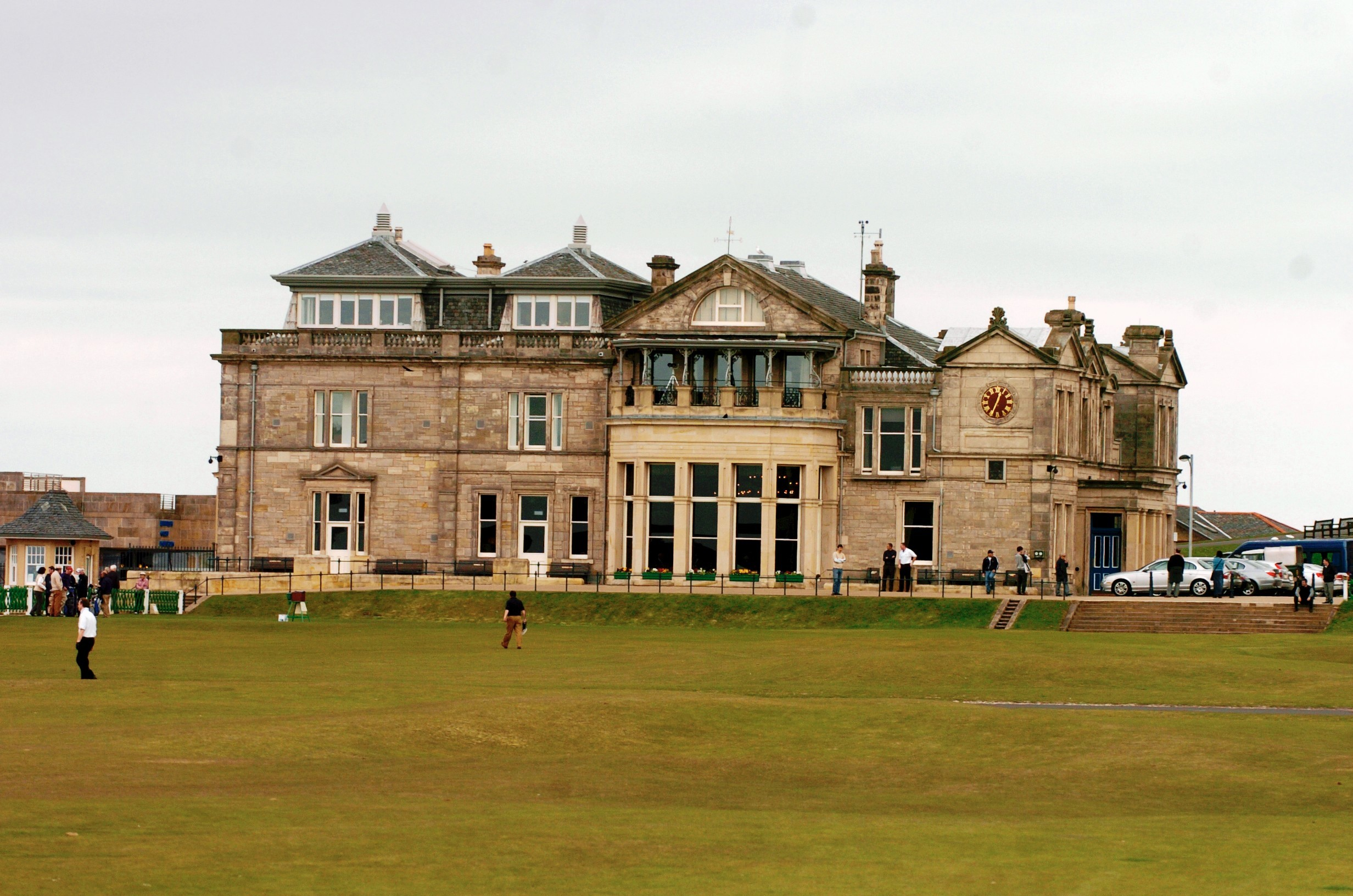 The Royal and Ancient Golf Club in St Andrews.