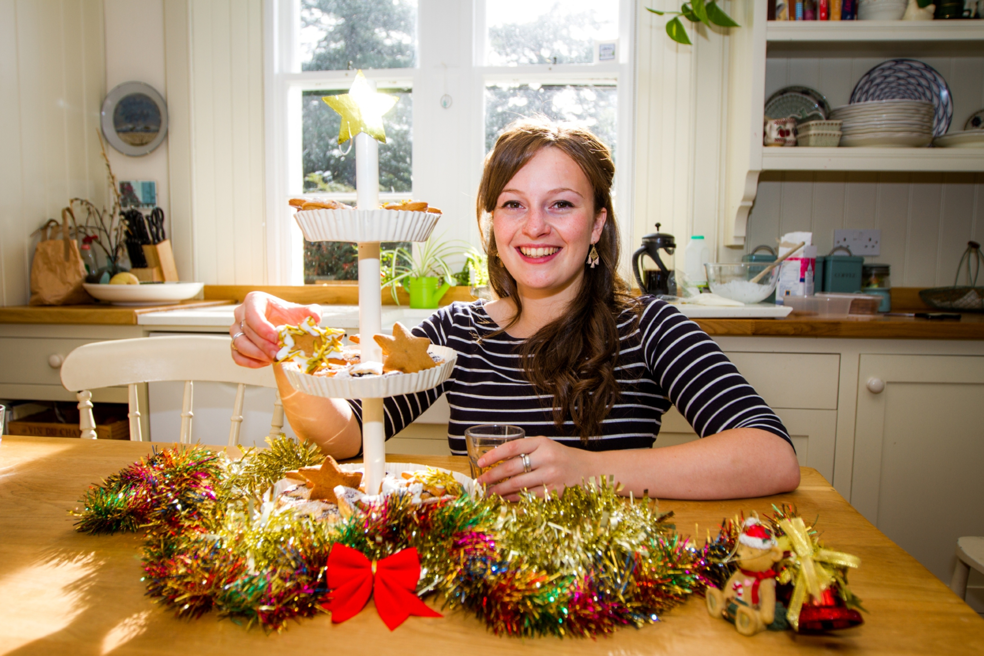 Flora Shedden wishes Courier readers a very Merry Christmas!
