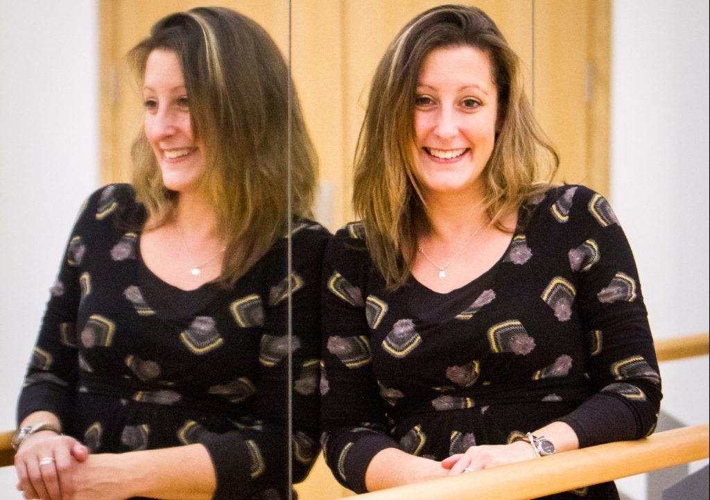 Dance teacher Dr Isla Woodman (who also teaches history and is assistant house mistress!)