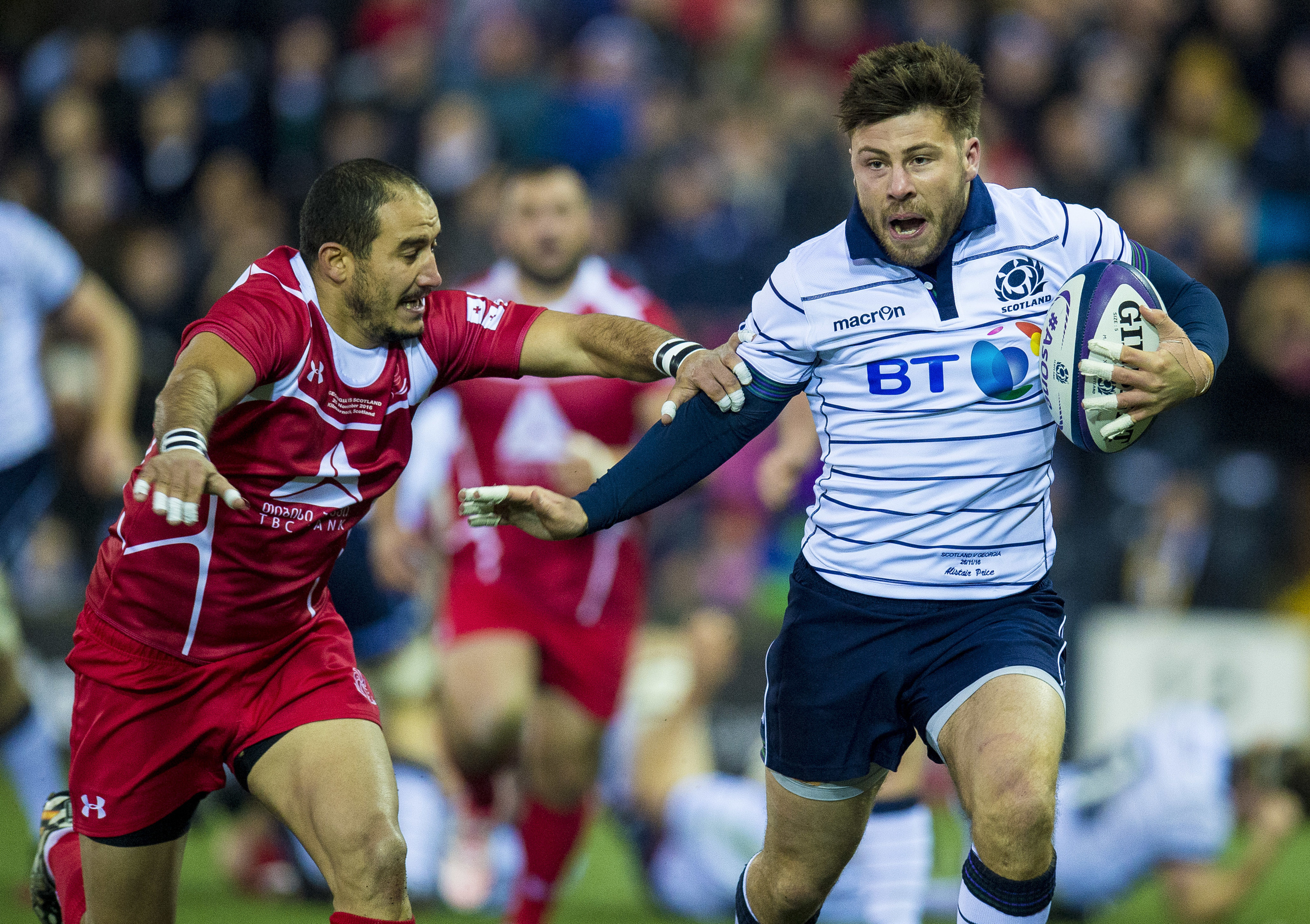 Ali Price is back at 9 for Glasgow after making his Scotland debut at the weekend.