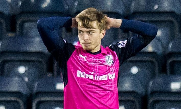 Craig Wighton during his time at Dundee.