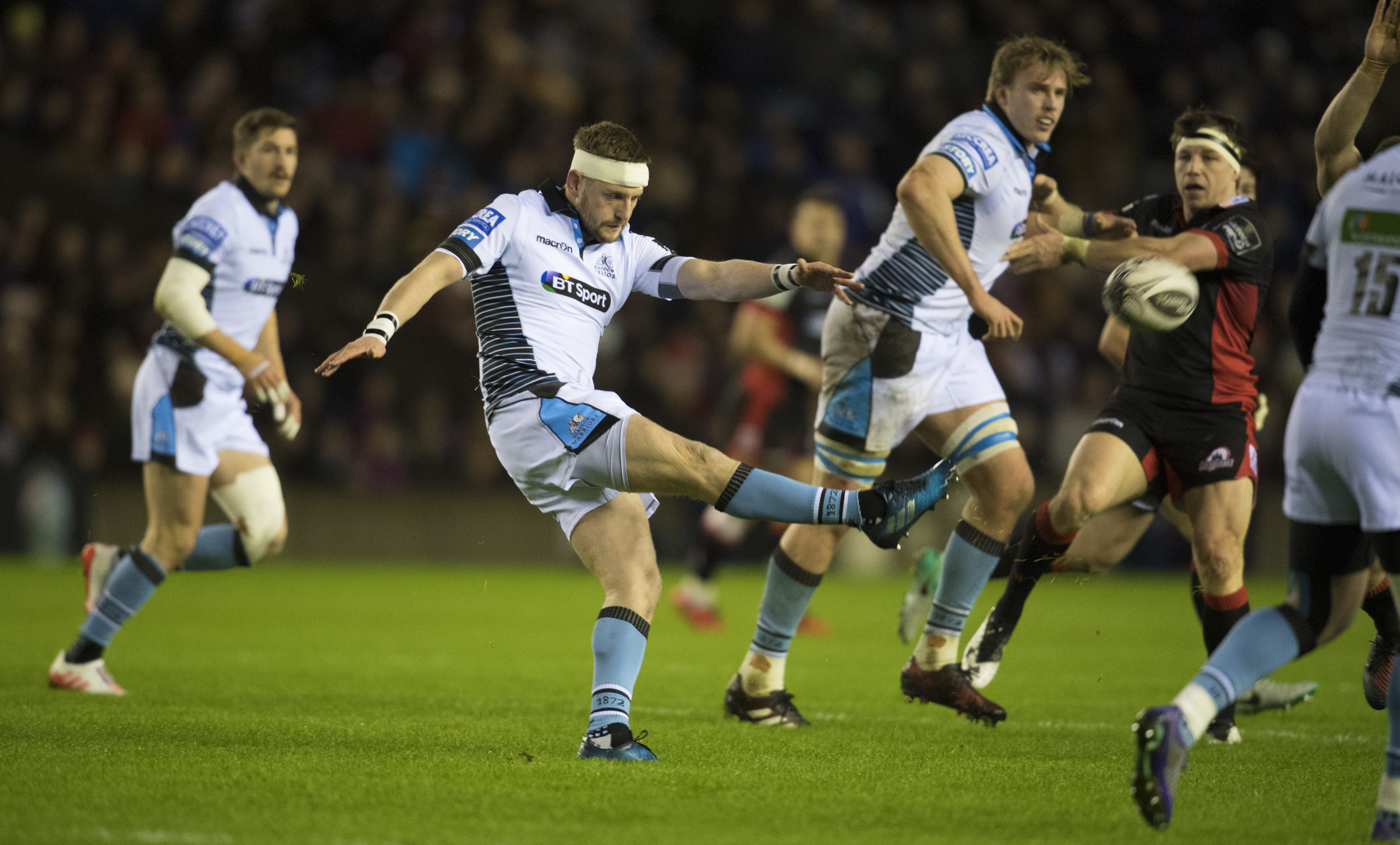 Finn Russell underlined he is the only real option for Scotland at 10 in the 1872 Cup first leg at Murrayfield.