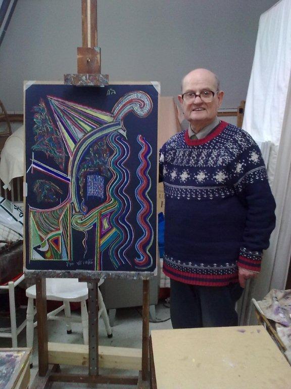 Samuel Robin Spark, 78, Scottish artist.