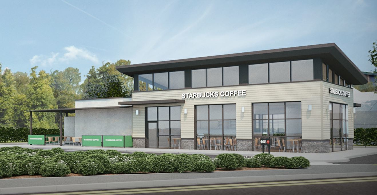 Perth could soon boast a Starbucks drive-through, such as that planned for Dundee.