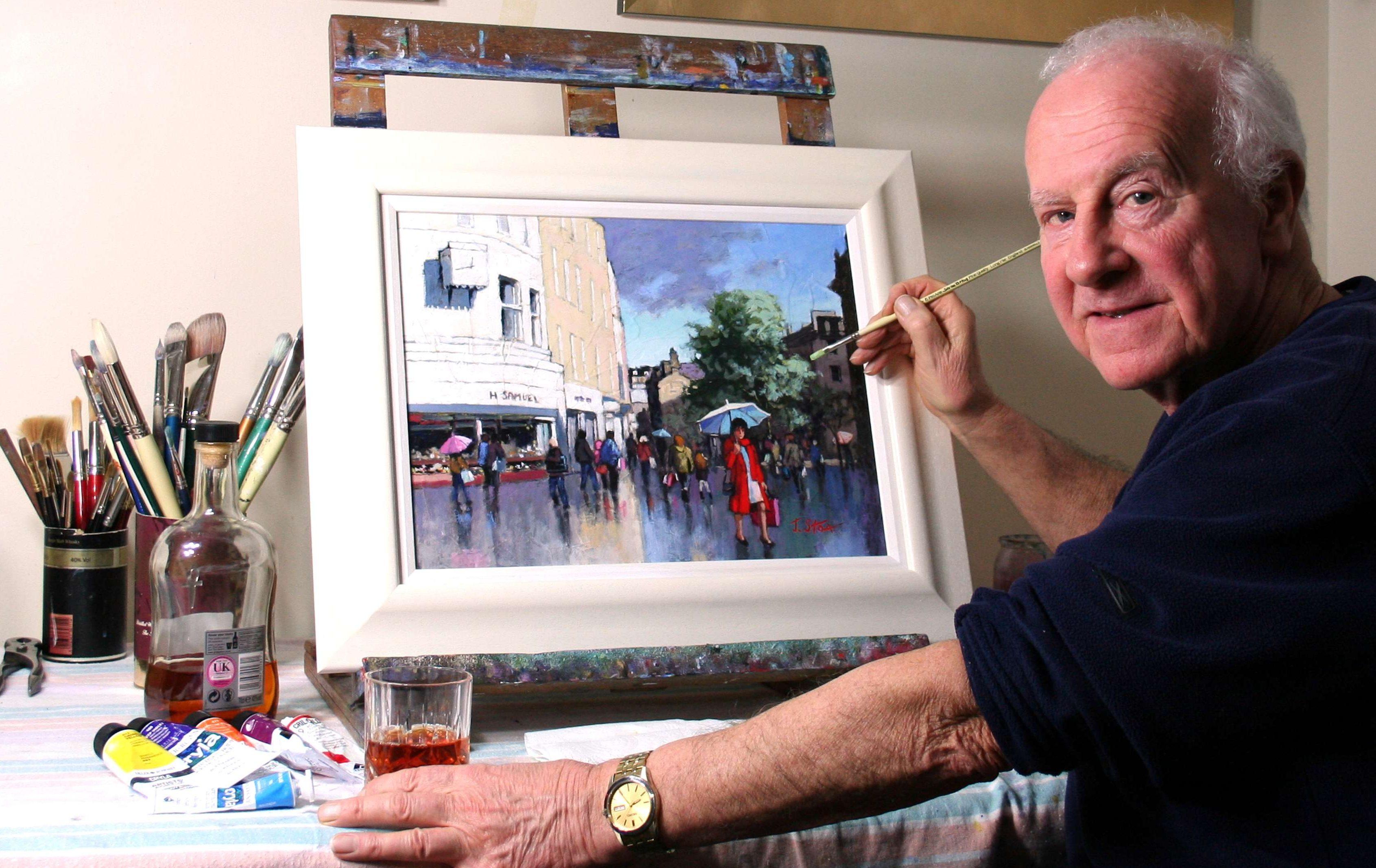John Stoa also likes to paint