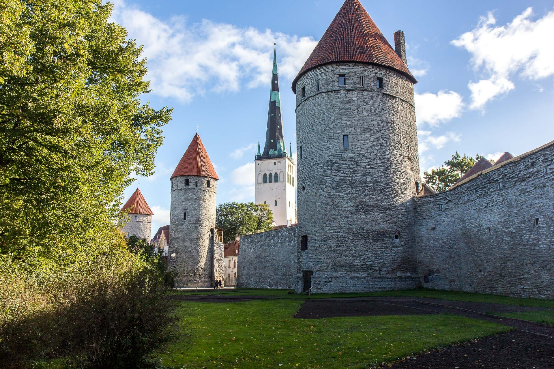 Tallinn, Estonia's capital on the Baltic Sea, is the country's cultural hub.