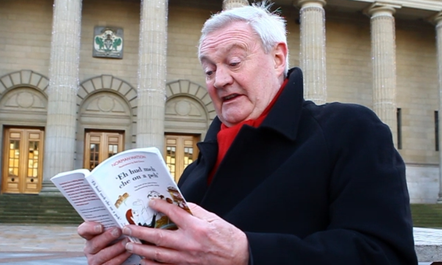 Alan Steadman reading some of his favourite sayings from the book.