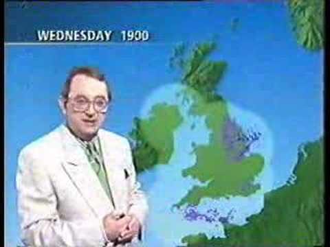 Ian McCaskill, 78, weather forecaster.