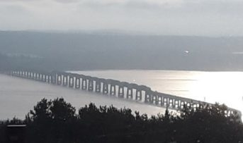 The Tay Road Bridge has been toll-free for a decade.