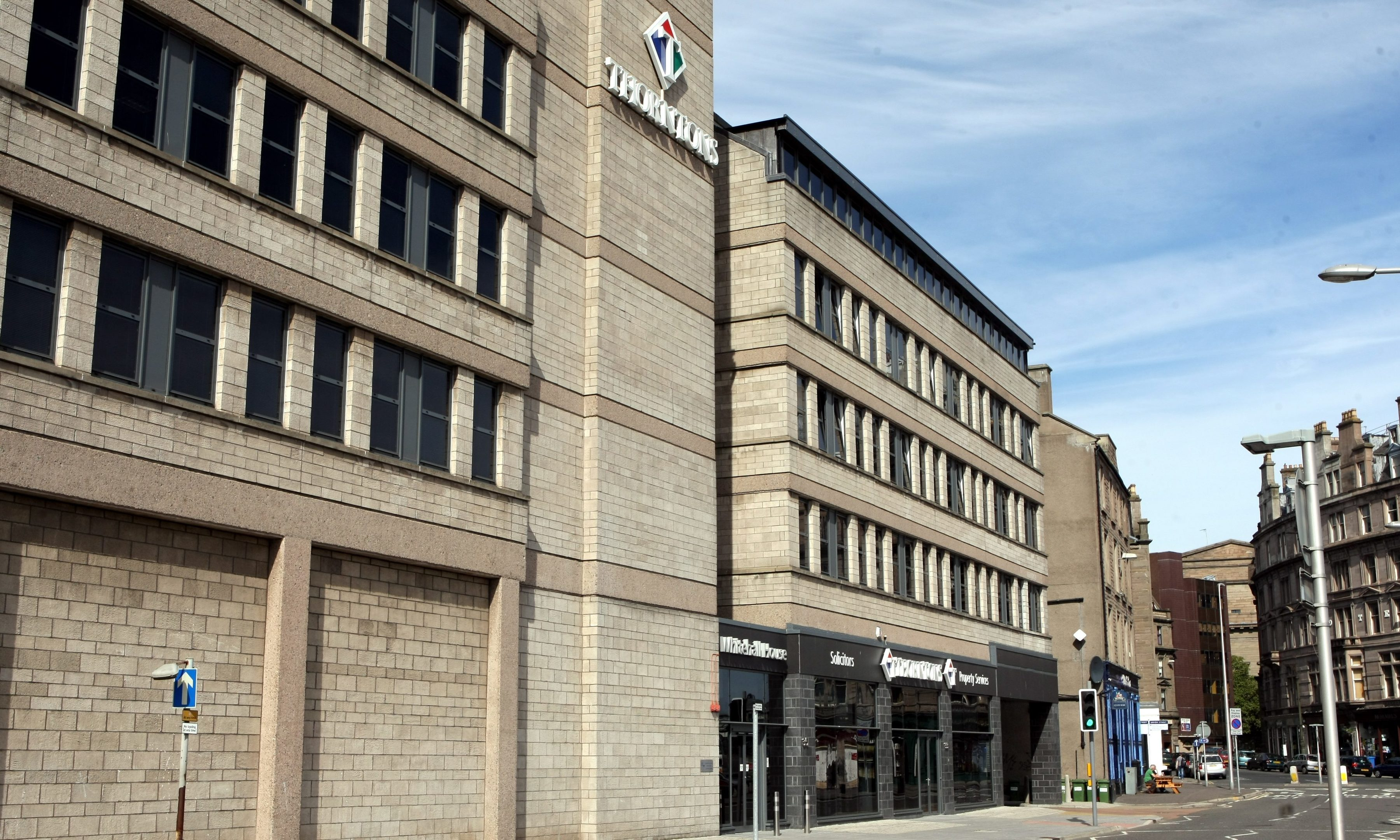 Thorntons Law's headquarters in Dundee.