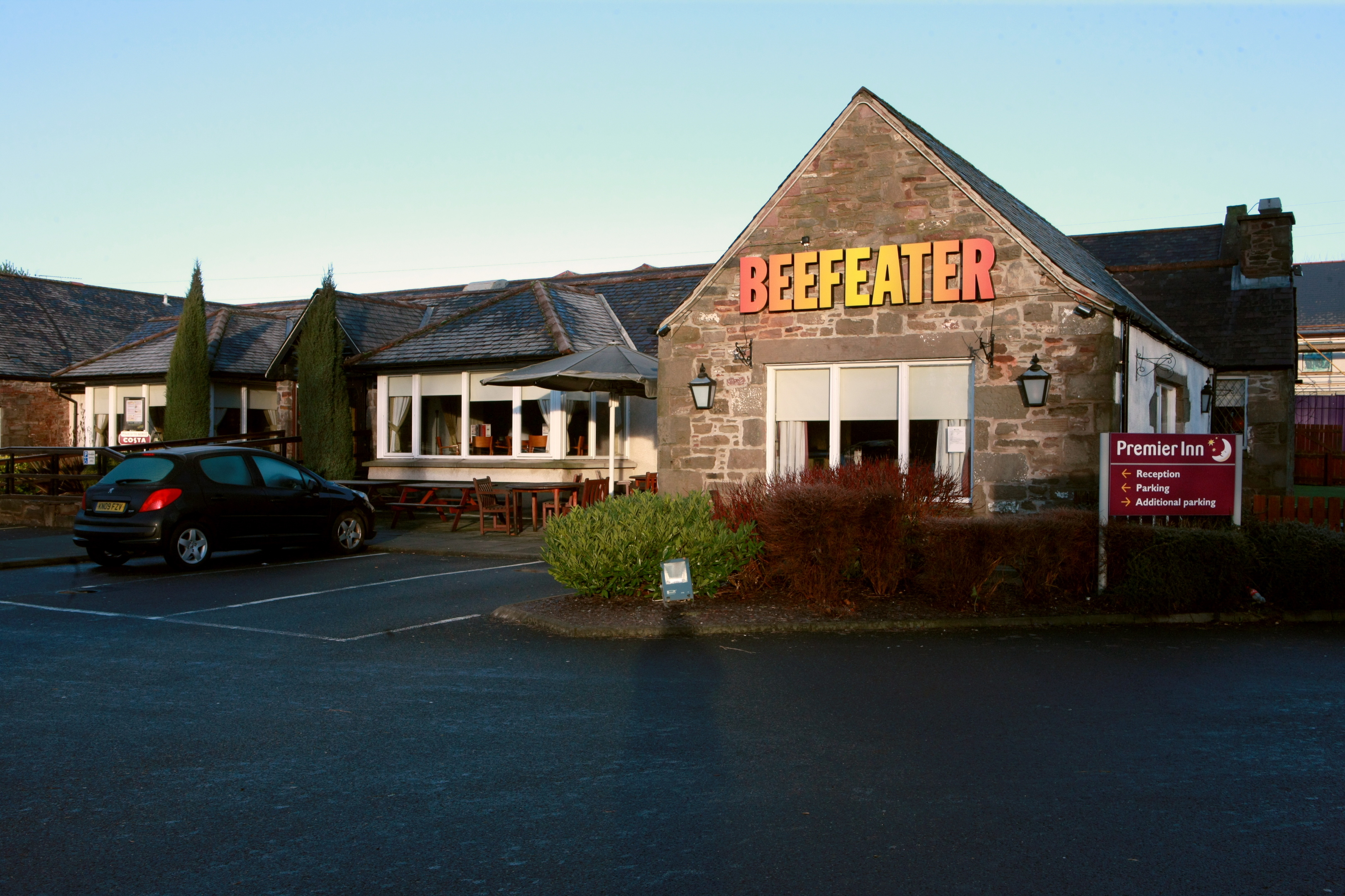 The restaurant closed on Tuesday after a boiler breakdown.