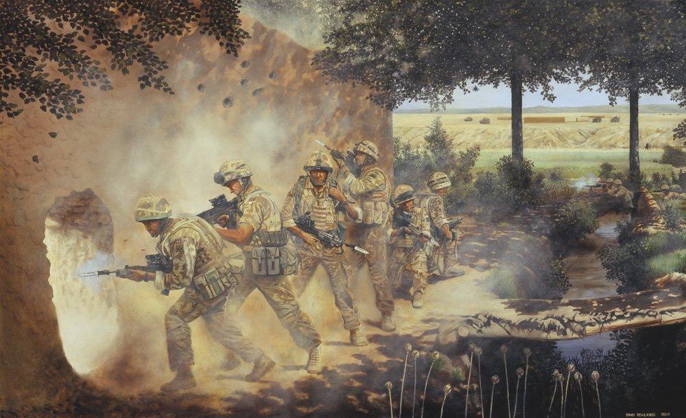The Royal Anglian Regiment.