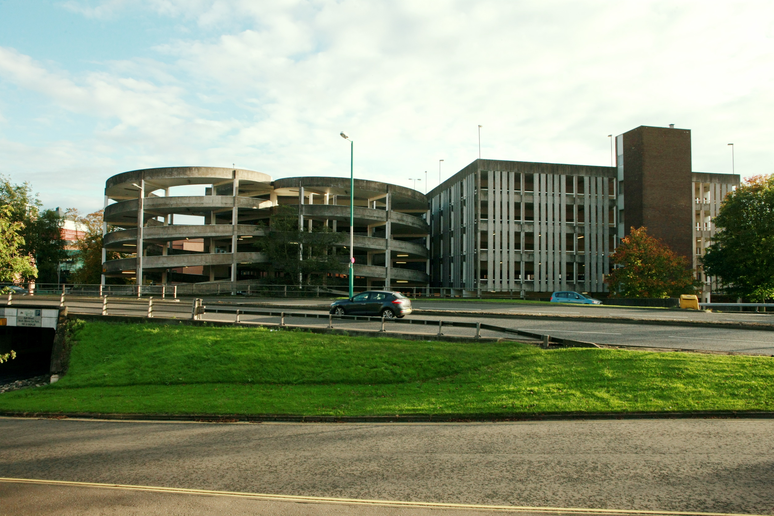 Bell Street Car Park, which neighbours Police Scotland Tayside Division HQ
