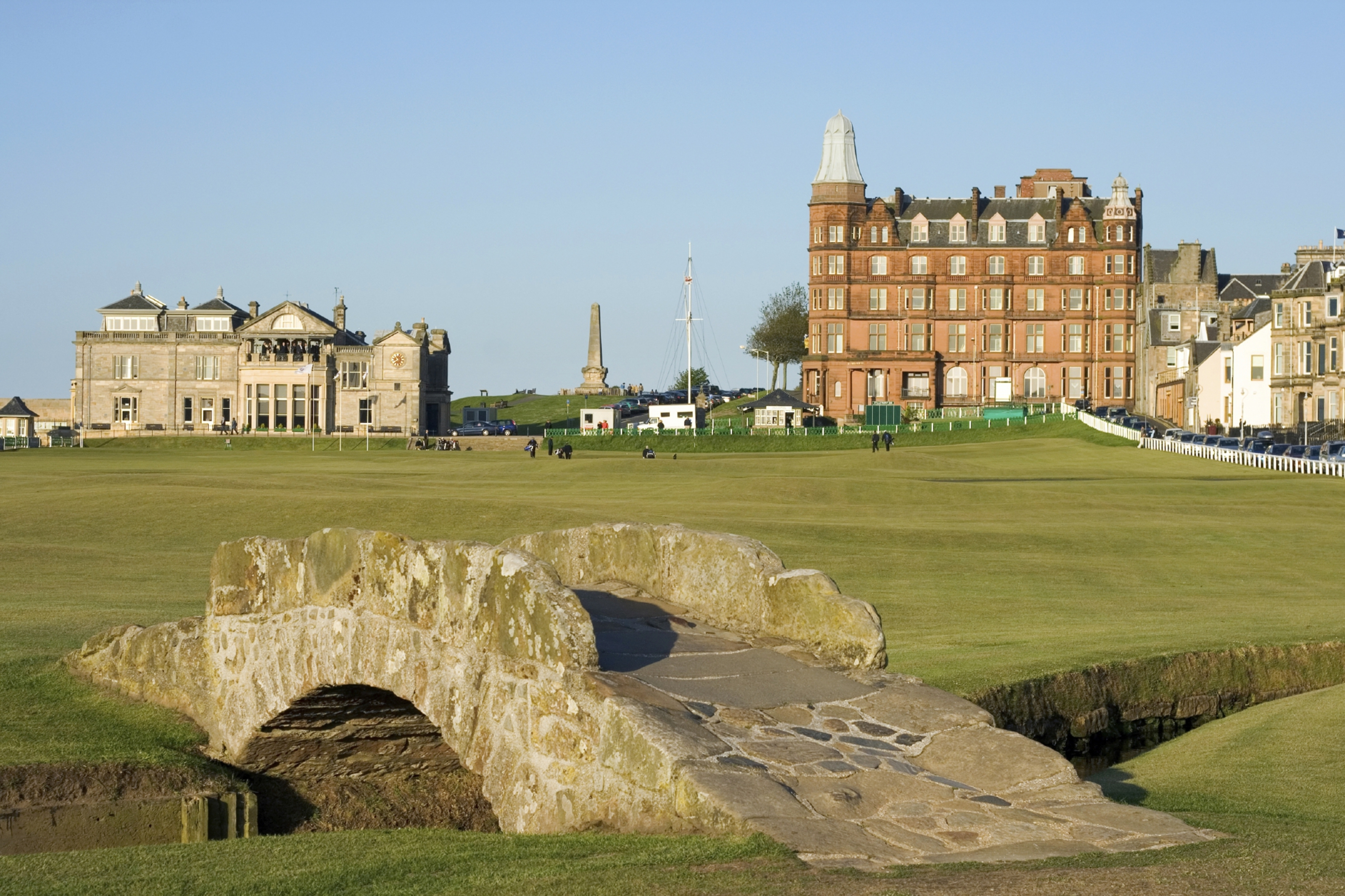 The Old Course at St Andrews will host the Senior Open in a little over a week's time.