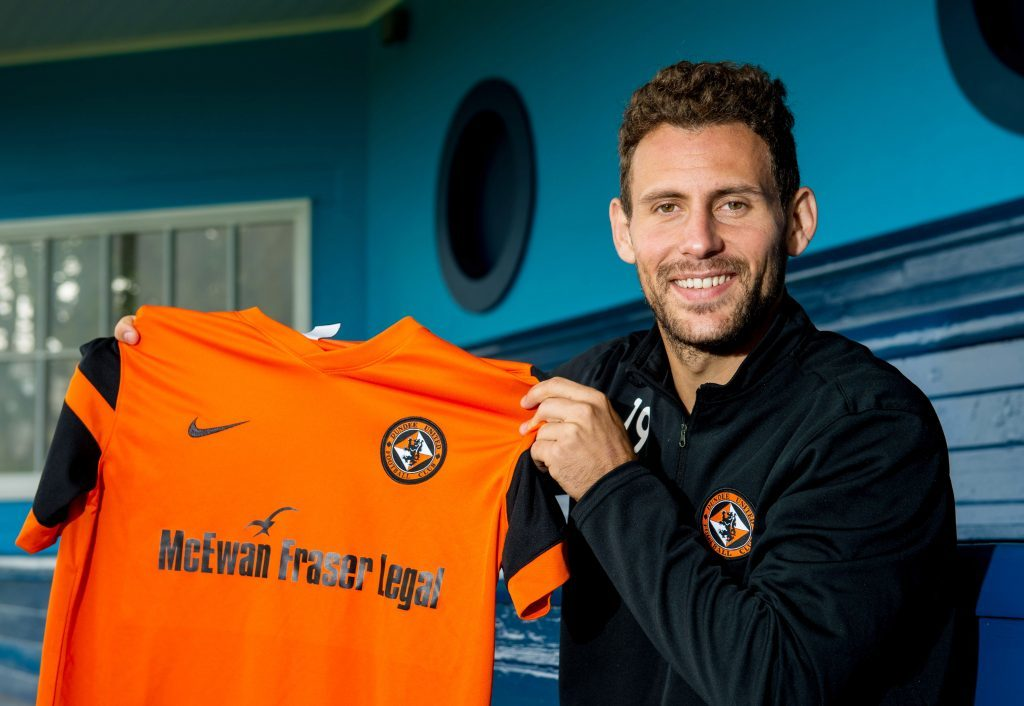 Dundee United's most talented player - Tony Andreu.