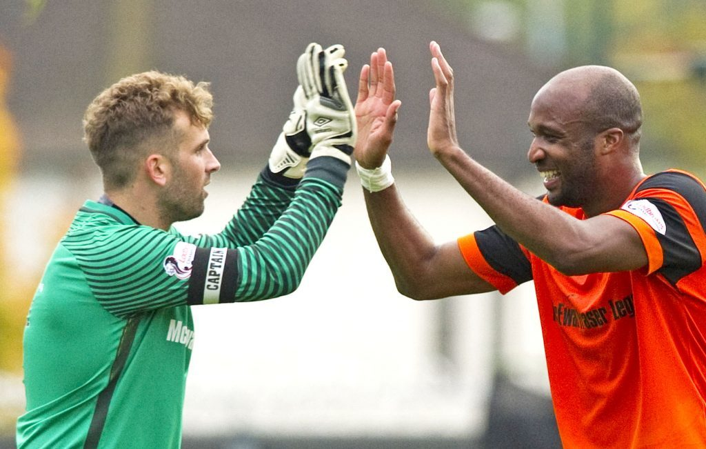 Two undoubted summer signing successes - Cammy Bell and William Edjenguele.