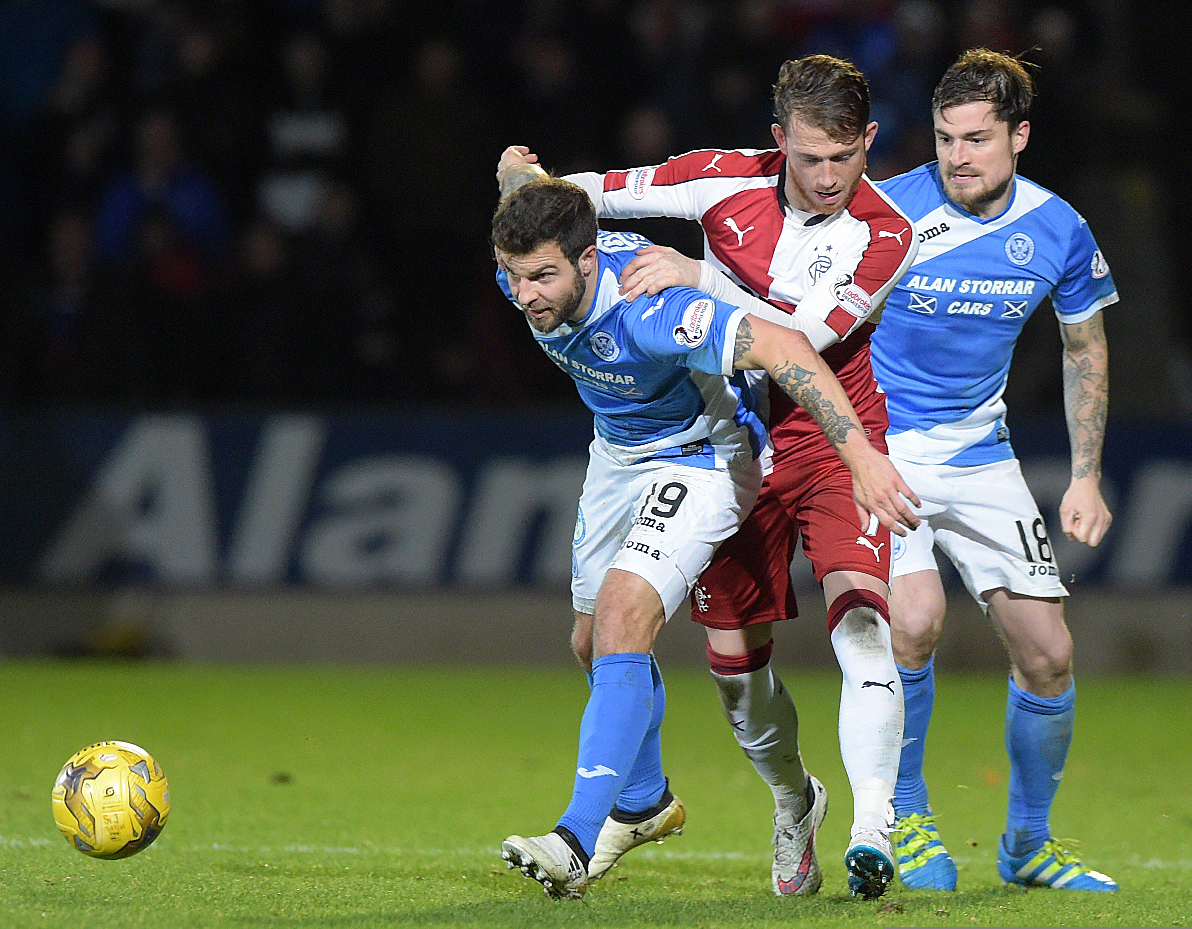 Richard Foster has been a big success at St Johnstone.