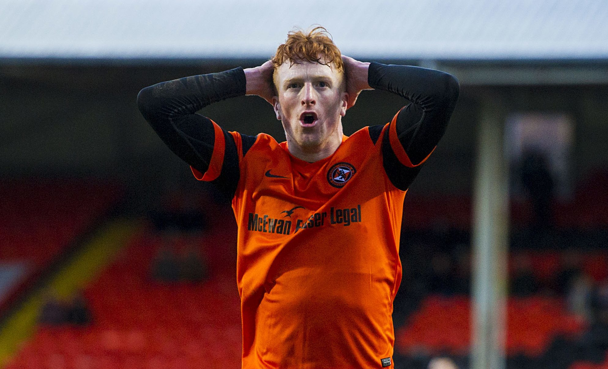 Simon Murray had an excellent game on Saturday but it wasn't an excellent result for his team.