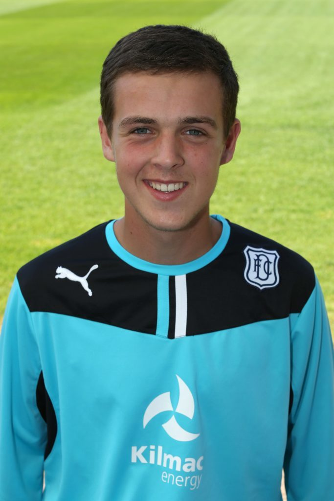 Calum was on the books at Dundee FC under-20's, before he moved to America.