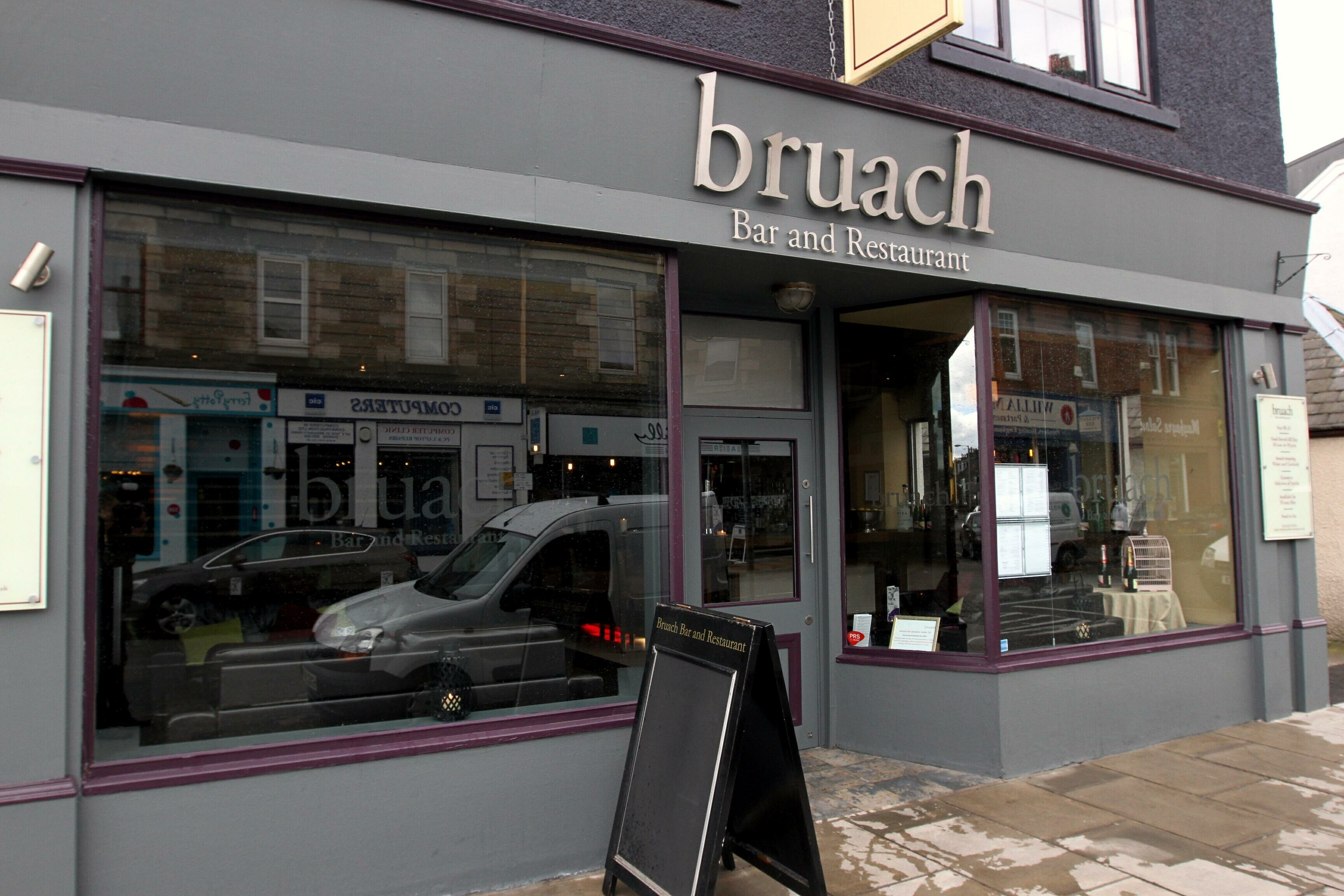 Bruach in Broughty Ferry.