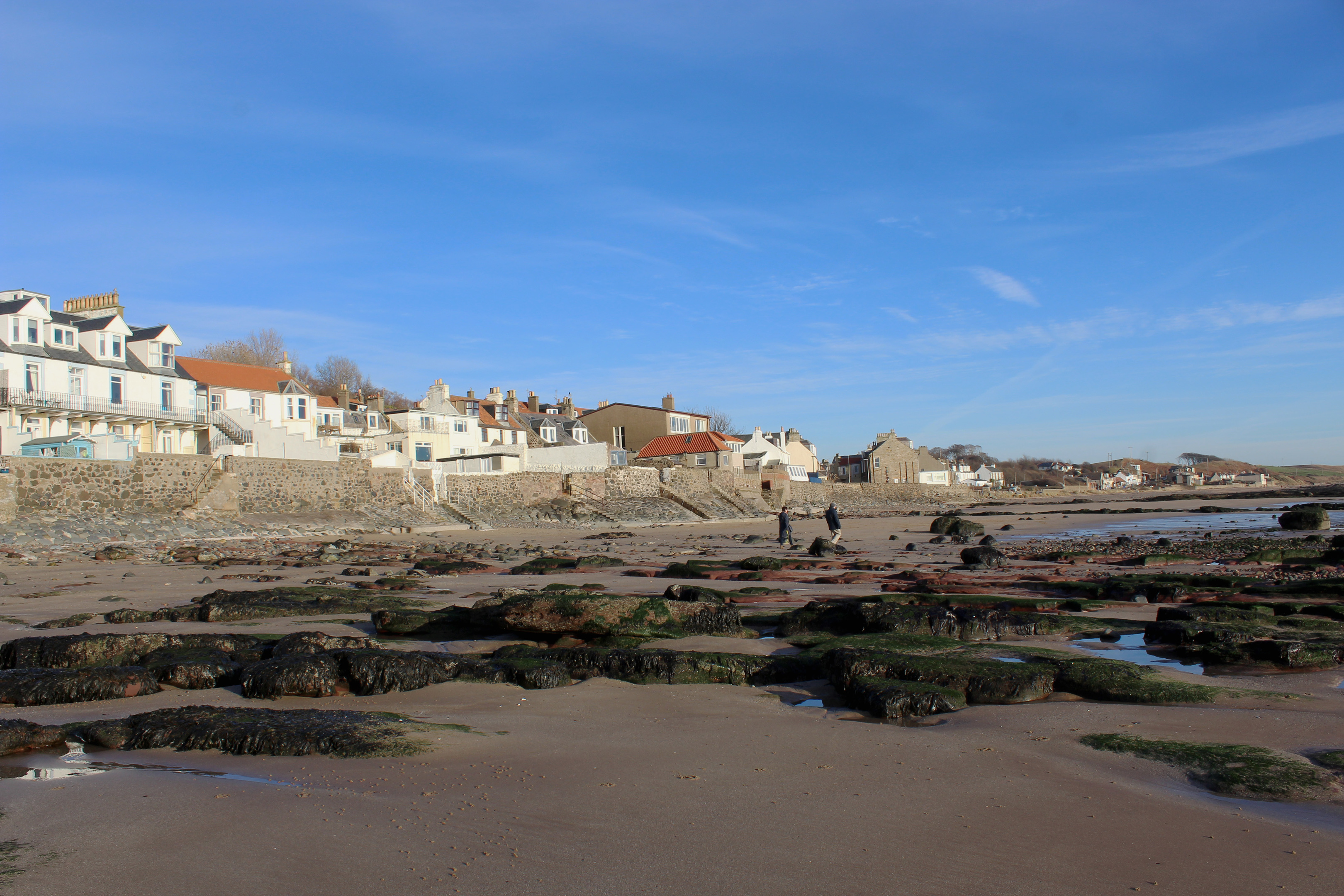 The seafront at Lower Largo.
