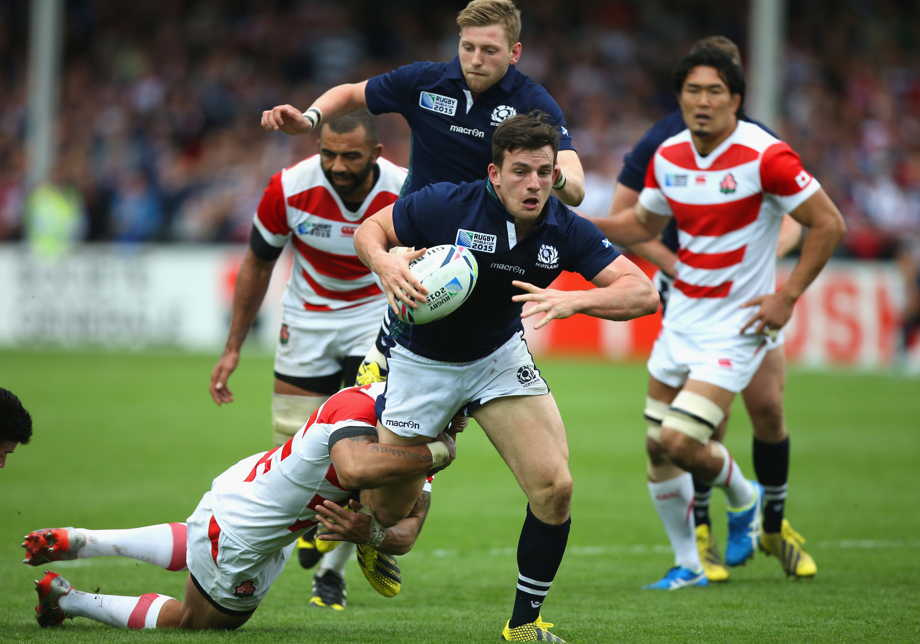 Matt Scott is back in the Scotland squad having been left out since the Rugby World Cup.