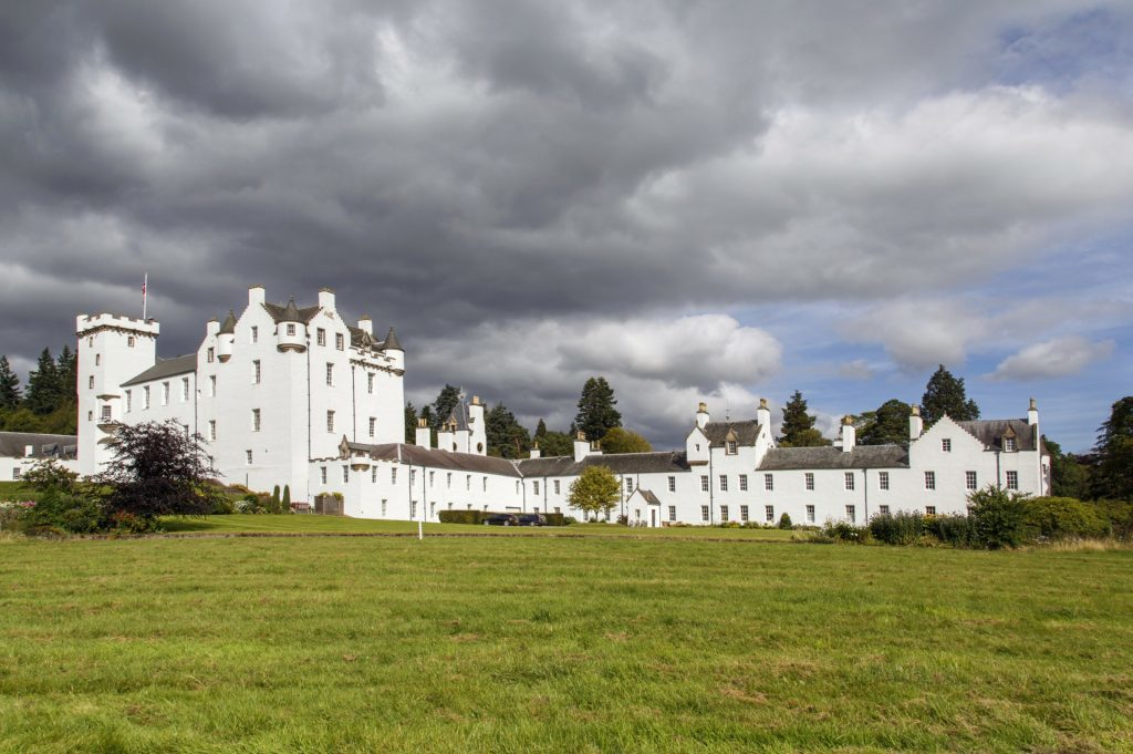 Stunning Blair Castle.