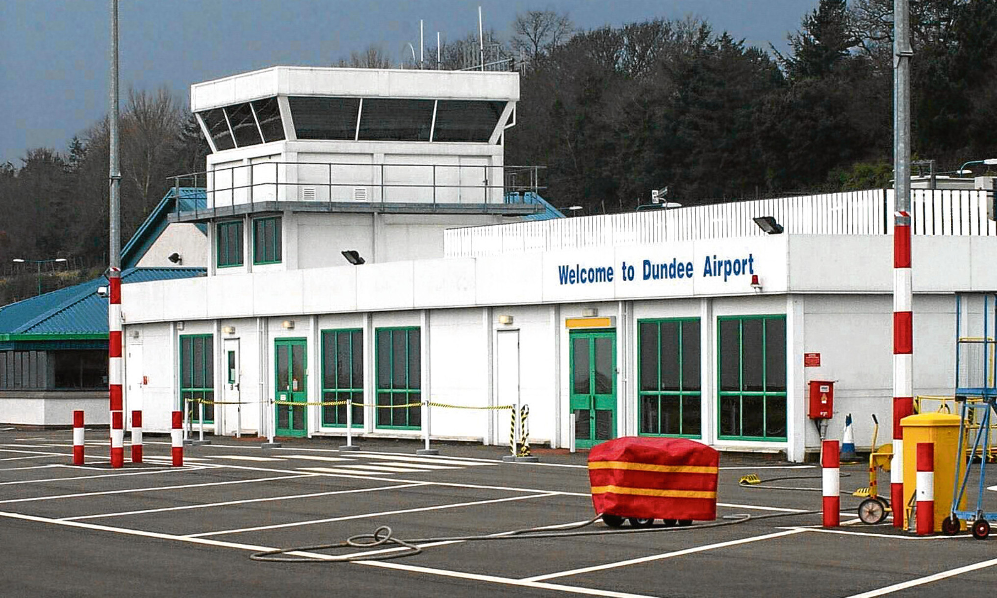 Dundee Airport.