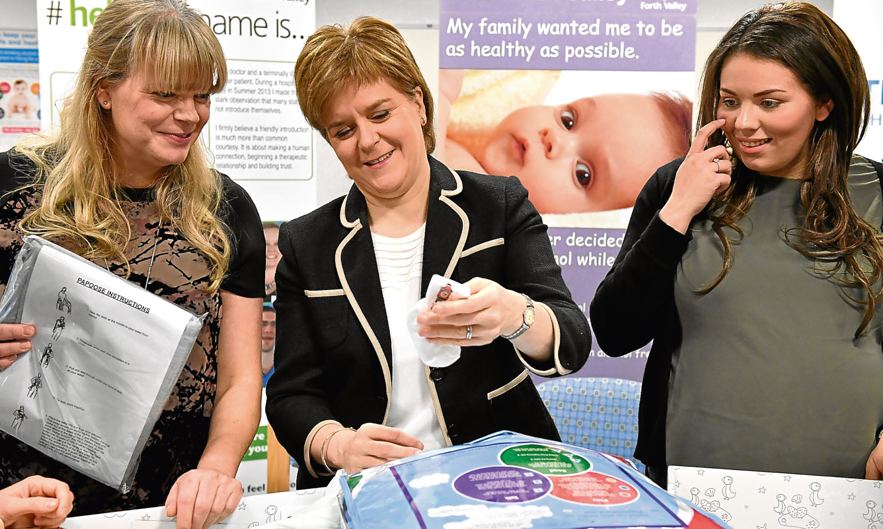 """The Scottish Government's Baby Boxes """"are not a panacea""""."""