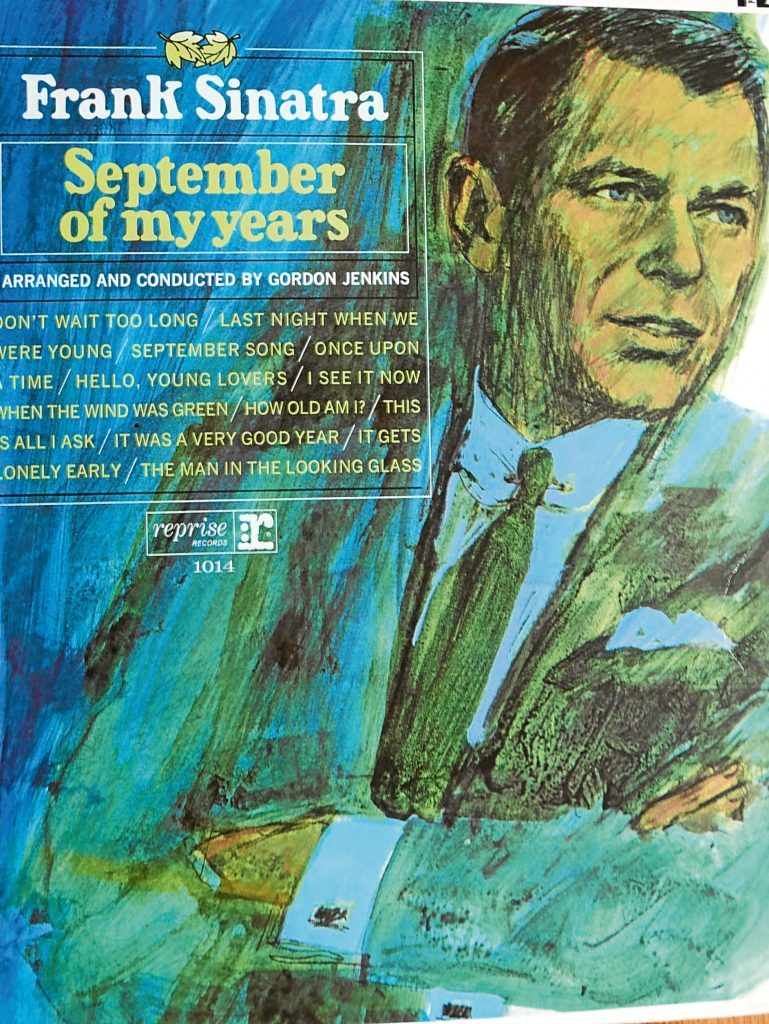 Frank Sinatra's September of my Years, whose sleeve notes entranced Jim Crumley before he had even put the record on.
